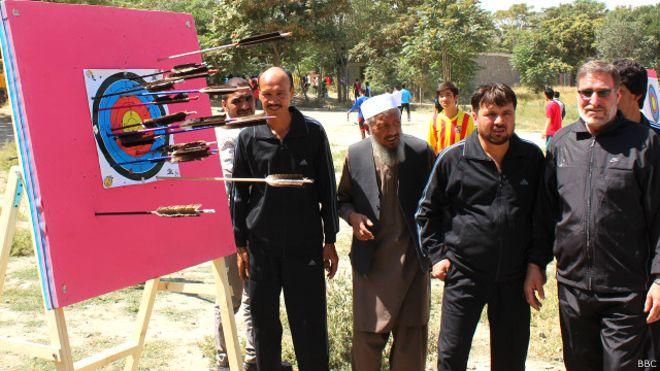arro shooters in afghanistan